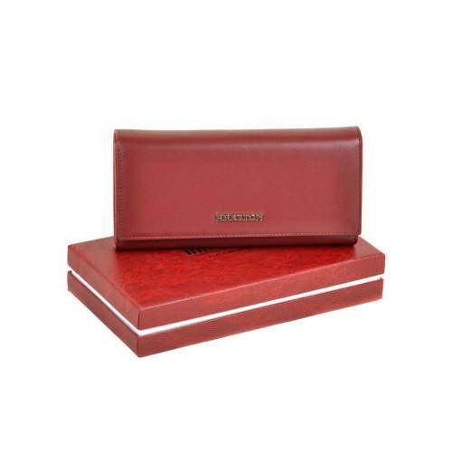 Кошелек   BRETTON W7232 женский кожаный бордовый