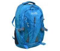 Рюкзак туристический Royal Mountain нейлоновый голубой (8437 l-blue)