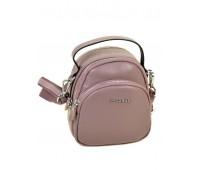 Сумка  ALEX RAI 03-1 3905  женская кожаная розовая