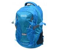 Рюкзак туристический Royal Mountain нейлоновый голубой (8462 l-blue)