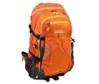 Рюкзак туристический Royal Mountain нейлоновый оранжевый (8323 yellow)
