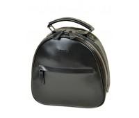 Рюкзак ALEX RAI 10-04 8715 женский кожаный черный