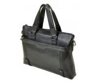 Сумка BRETTON 603 портфель мужская кожаная черная