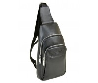 Рюкзак DR. BOND 1102 на плечо мужской черный