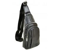 Рюкзак DR. BOND 1106 на плечо мужской черный