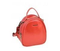 Рюкзак  ALEX RAI 03-4 1189 женский кожаный красный