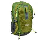 Рюкзак туристический Royal Mountain нейлоновый зелёный (1465 green)