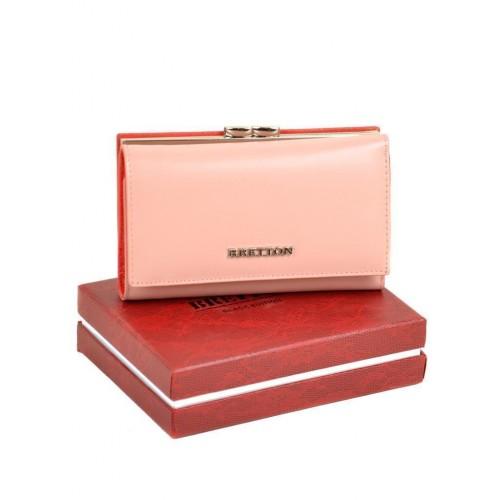 Кошелек BRETTON W5520 женский кожаный розовый