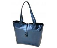Сумка  ALEX RAI 10-03 J002 женская кожаная синяя