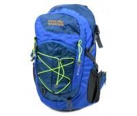Рюкзак туристический Royal Mountain нейлоновый голубой (8343-22 blue)