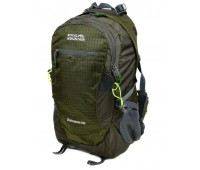 Рюкзак туристический Royal Mountain нейлоновый зелёный (4096 dark-green)