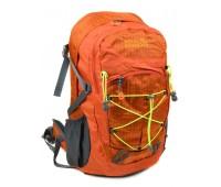 Рюкзак туристический Royal Mountain нейлоновый оранжевый (8343-22 orange)