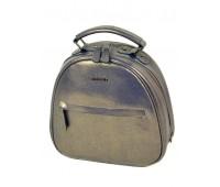 Рюкзак ALEX RAI 10-04 8715 женский кожаный золотой