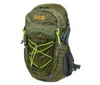 Рюкзак туристический Royal Mountain нейлоновый зелёный (8343-22 dark-green)
