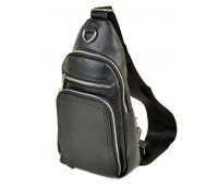 Рюкзак  DR. BOND 1103 на плечо мужской черный