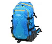Рюкзак туристический Royal Mountain нейлоновый голубой (8323 blue)
