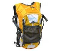 Рюкзак туристический Royal Mountain нейлоновый жёлтый (1457 yellow)