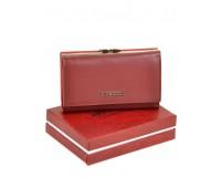 Кошелек BRETTON W5520 женский кожаный бордовый