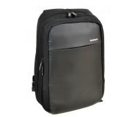 Рюкзак MEINAILI 1802 с USB мужской черный