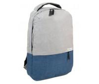 Рюкзак MEINAILI 018 мужской серый с синим