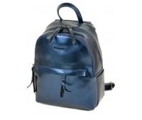 Рюкзак  ALEX RAI 03-2 337 женский кожаный синий