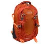Рюкзак туристический Royal Mountain нейлоновый оранжевый (8463 orange)