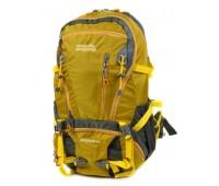 Рюкзак туристический Royal Mountain нейлоновый жёлтый (8421 yellow)