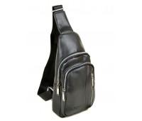 Рюкзак DR. BOND 1104 на плечо мужской черный