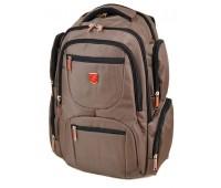 Рюкзак Power In Eavas 3911 мужской универсальный коричневый