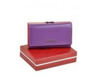 Кошелек BRETTON W5520  женский кожаный фиолетовый