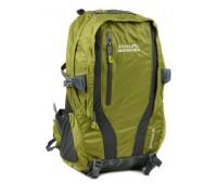 Рюкзак туристический Royal Mountain нейлоновый зелёный (8331 green)