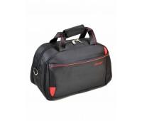 Дорожная сумка Catesiga нейлоновая, чёрная (22806-18 Small black-red)
