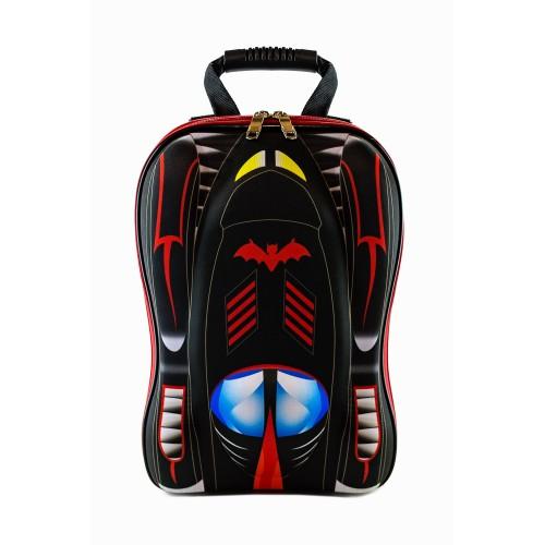 Рюкзак дошкольный Cappuccino Toys 938-Car 3D Гоночная машина Бэтмобиль черный (CTCarB-01Black)