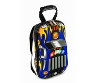 Рюкзак дошкольный Cappuccino Toys 938-SmCar 3D Гоночная машина синий (CTCarS-03Blue)