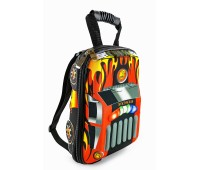 Рюкзак дошкольный Cappuccino Toys 938-SmCar 3D Гоночная машина красный (CTCarS-04Red)