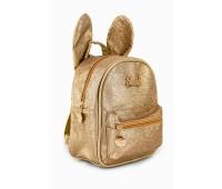 Рюкзак Fantasy Accessories Mini Rabbit для девочек блестящий золотой  (FA-R03gold)
