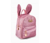 Рюкзак Fantasy Accessories Mini Rabbit для девочек блестящий розовый (FA-R01pink)