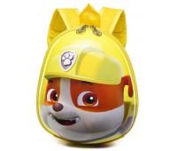 Рюкзак дошкольный Cappuccino Toys Paw Patrol Щенячий патруль Крепыш желтый (CT-PawPKrep-02oval)