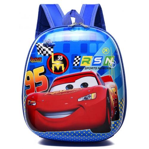 Рюкзак дошкольный Cappuccino Toys Disney Cars Тачки Молния Маккуин синий (CT-DCars-01oval)