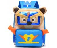 Рюкзак Cappuccino Toys Pre-school дошкольный Супер Мимимишки синий (CT-Mimi-05blue)