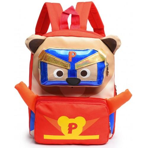 Рюкзак Cappuccino Toys Pre-school дошкольный Супер Мимимишки красный (CT-Mimi-03red)