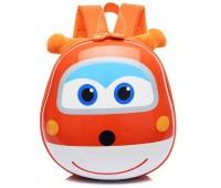 Рюкзак Cappuccino Toys Pre-school 3D дошкольный Super Wings Супер Вингс Супер крылья плотный корпус оранжевый (CT-V-06oran)