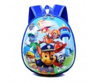 Рюкзак дошкольный Cappuccino Toys Paw Patrol Щенячий патруль все щенки синий (CT-PawPall-01oval)
