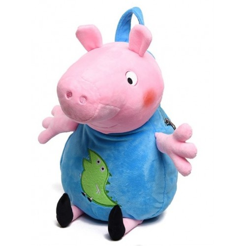 Рюкзак Cappuccino Toys Peppa Pig Свинка Пеппа розовый с голубым (PP01GP)