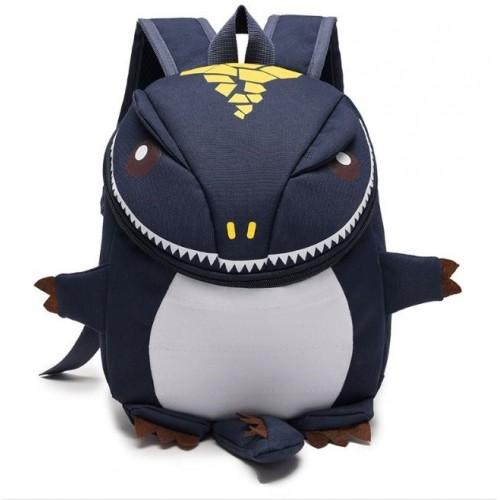 Рюкзак Cappuccino Toys Динозаврик дошкольный Темно-синий (CTDino-05DB)