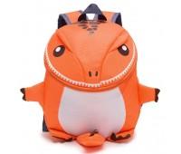 Рюкзак Cappuccino Toys Динозаврик дошкольный Оранжевый (CTDino-02O)