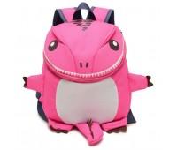 Рюкзак Cappuccino Toys Динозаврик дошкольный Розовый (CTDino-03P)