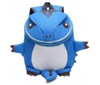 Рюкзак Cappuccino Toys Динозаврик дошкольный Голубой (CTDino-04B)