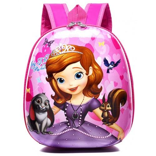 Рюкзак дошкольный Cappuccino Toys Disney Sofya the First Принцесса София розовый (CT-DStF-01oval)