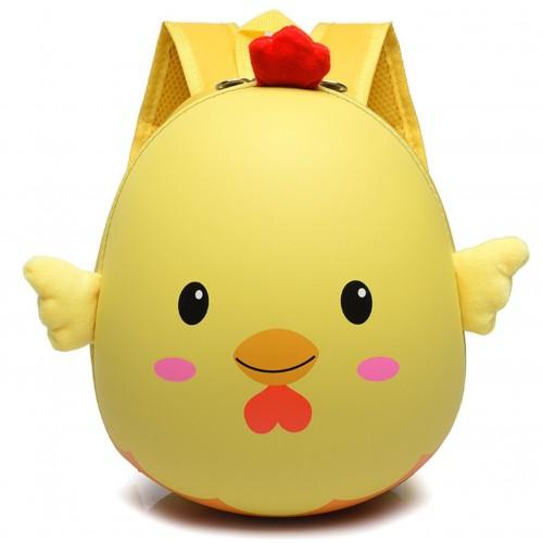 Рюкзак Cappuccino Toys Pre-school 3D дошкольный плотный корпус Цыпленок желтый (CT-Ch-02y)